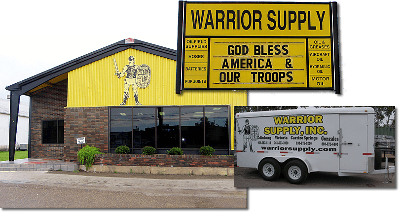 Warrior Supply,Inc  | Oilfield pipeline and rig supplies for